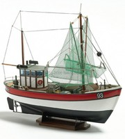 Billing-Boats 1/60 Rainbow Double-Masted Coastal Ship Cutter Boat w/Vacu-Form Hull (Beginner)