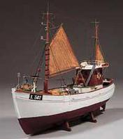 Billing-Boats 1/33 Mary Ann Double-Masted Fishing Boat (Intermediate)