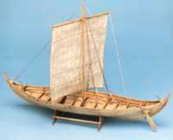 Billing-Boats 1/25 Roar Ege Single-Masted Viking Ship (Intermediate)