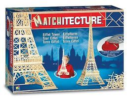 Bojeux Eiffel Tower (Paris, France) (1150pcs) Wooden Construction Kit #6611