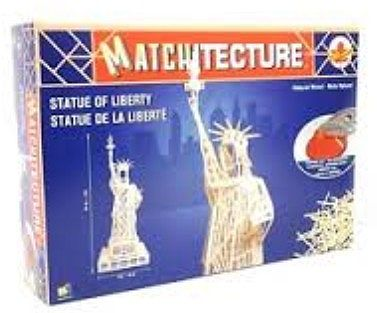 Bojeux Statue of Liberty (New York, USA) -- Wooden Construction Kit -- #6614