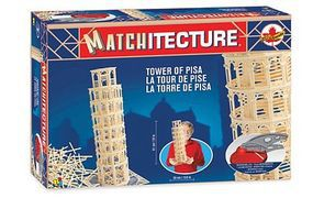 Bojeux Leaning Tower of Pisa (Italy) Wooden Construction Kit #6619