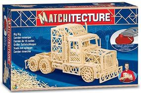 Bojeux Big Rig Tractor Cab (2000pcs) Wooden Construction Kit #6622