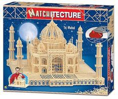 Bojeux Taj Mahal (India) (7500pcs) Wooden Construction Kit #6635