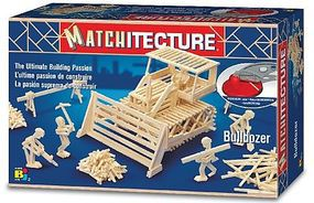 Bojeux Bulldozer (500pcs) Wooden Construction Kit #6640