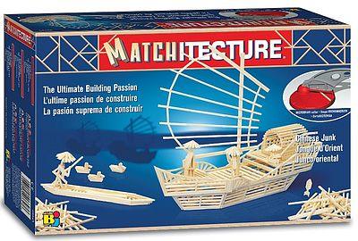 Bojeux Chinese Junk Boat (500pcs) -- Wooden Construction Kit -- #6643