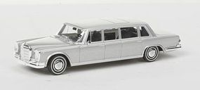 Berkina Mercedes Benz 600 Limousine Assembled Silver Model Railroad Vehicle HO Scale #13005