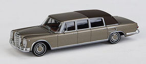 Berkina MB 600 Landaulet Top Up Gold HO Scale Model Railroad Vehicle #13008