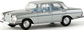 Berkina Mercedes Benz 280 SE Sedan Assembled Astral Silver Model Railroad Vehicle HO Scale #13104