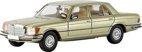 Berkina Mercedes 450 SEL Assembled Metallic Silver Green Model Railroad Vehicle HO Scale #13155