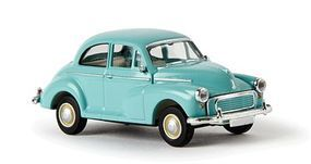 Berkina 1948-1971 Morris Minor Sedan Assembled Light Green Model Railroad Vehicle HO Scale #15207