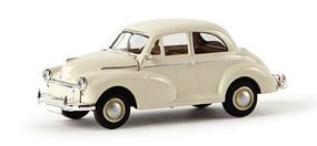 Berkina 1948-1971 Morris Minor Sedan Assembled Pearl White Model Railroad Vehicle HO Scale #15211