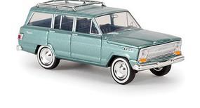 Berkina 1963 Jeep Wagoneer Assembled Metallic Green