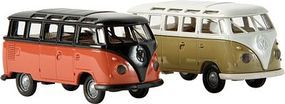 Berkina Volkswagen Samba T1b Van Assembled Various Colors Model Railroad Vehicle HO Scale #31824