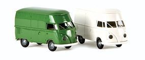Berkina Volkswagen T1b High Roof Cargo Van Assembled Model Railroad Vehicle HO Scale #32607