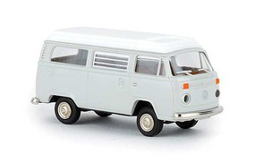 Berkina 1973-1979 Volkswagen Kombi T2 Passenger Van Assembled Light Gray, White