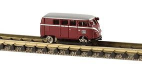 Berkina KLV 20 Inspection Car German Federal Railroad DB N Scale Model Train Passenger Car #69200