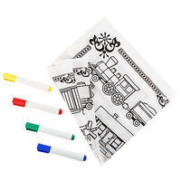 Brooklyn-Peddler Peddler Railroad Engineer Bandana Coloring Kit