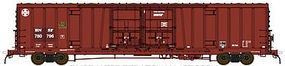 60' Beer Car BNSF #780822 N Scale Model Train Freight Car #18051