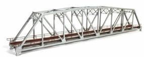 BLMS 200' Truss Bridge Silver N Scale Model Railroad Bridge #2002
