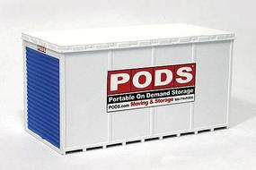BLMS PODS(R) Moving & Storage Container HO Scale Model Railroad Building #4115