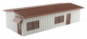 BLMS Yard Office - Assembled - 6-3/4 x 2-3/4 HO Scale Model Railroad Building #4300