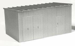 BLMS Trackside Equipment Shed HO Scale Model Railroad Trackside Accessory #4305