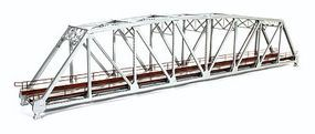 BLMS Assembled Brass 200 Truss Bridge - Silver HO Scale Model Railroad Bridge #5002
