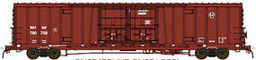 BLMS 60 Beer Car BNSF #780814 HO Scale Model Train Freight Car #53061