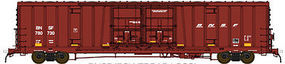BLMS 60 Beer Car BNSF #780736 HO Scale Model Train Freight Car #53066