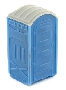 BLMS Portable Toilet - Assembled pkg(2) N Scale Model Railroad Building Accessory #603