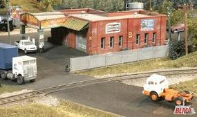 BLMS Chain Link Fence - 6High/250 Scale Feet Long N Scale Model Railroad Building Accessory #710