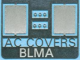 BLMS Removed Air Conditioner Cover N Scale Model Railroad Scratch Supply #91