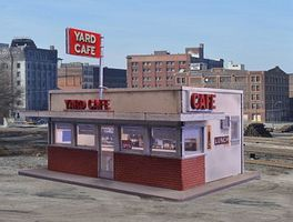 Blair-Line Yard/Hiway Cafe - Kit N Scale Model Railroad Building #1006