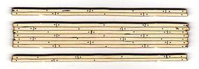 Blair-Line Rough-Cut 2-Lane Wood Grade Crossing - Kit HO Scale Model Railroad Trackside Accessory #120