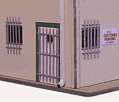Blair-Line Burglar Bars - Kit - pkg(30) N Scale Model Railroad Building Accessory #1708