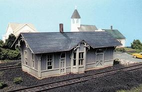 Blair-Line Chesapeake & Ohio Depot - Standard #1 Design Kit HO Scale Model Railroad Building #185