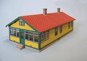 Blair-Line Santa Fe 6-Room Section House Kit HO Scale Model Railroad Building #194