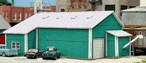 Blair-Line Farmers Fertilizer Bulk Plant Laser-Cut Wood Kit HO Scale Model Railroad Building #2007