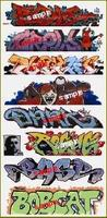 Blair-Line Graffiti Decals Mega Set #9 (9) HO Scale Model Railroad Decal #2258