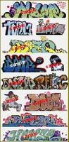 Blair-Line Graffiti Decals Mega Set - #10 (11) HO Scale Model Railroad Decal #2259