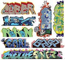 Blair-Line Graffiti Decals Mega Set - #12 (8) HO Scale Model Railroad Decal #2261