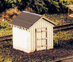 Blair-Line Coal Storage House O Scale Model Railroad Trackside Accessory #283