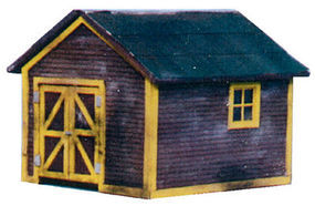 Blair-Line Section Toolhouse (1-1/8 x 1 2.8 x 2.5cm) N Scale Model Railroad Building #75