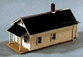 Blair-Line Shotgun House - Laser-Cut Wood Kit N Scale Model Railroad Building #79