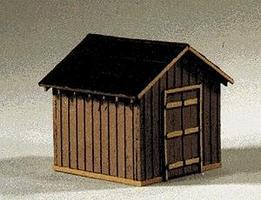 Blair-Line Coal Storage House Kit (3/4 x 3/4 1.8 x 1.8cm) N Scale Model Railroad Building #83