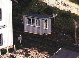 Blair-Line Scale House (Laser-Cut Wood Kit) N Scale Model Railroad Building #84