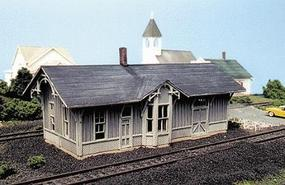 Blair-Line Chesapeake & Ohio Depot - Standard #1 Design Kit N Scale Model Railroad Building #85
