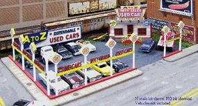Blair-Line A-to-Z Used Car Lot Kit (Cars Sold Separately) N Scale Model Railroad Building #97