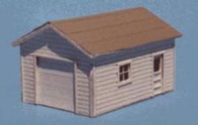Blair-Line-Signs One-Car Garage Kit N Scale Model Railroad Building #073